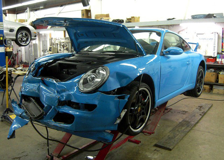 Collision refinishing collector car refinishing for Best car paint shop