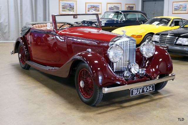 1935 Bentley 3 1/2 Litre Drophead Coupe