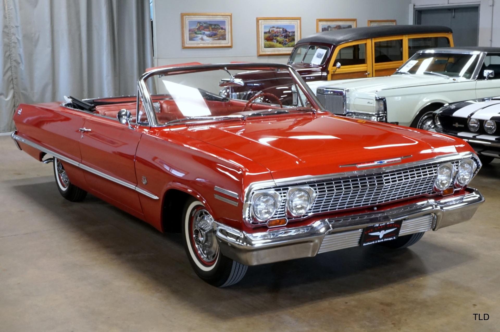 Details About 1963 Chevrolet Impala Ss 409