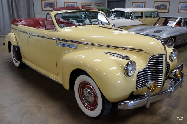 1940 Buick 51C Super Convertible Phaeton