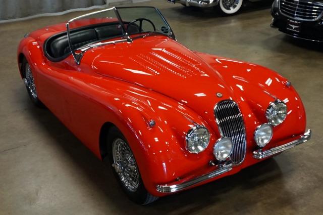 1954 Jaguar XK120 SE Roadster Convertible