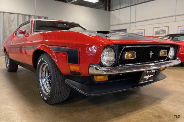 1971 Ford Mustang Boss 351 - Red