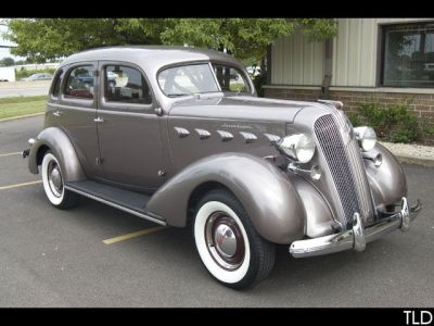 1937 SOLD CARS Model 116 Supercharger