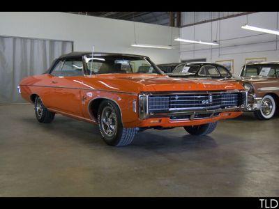 1969 SOLD CARS Impala SS 427 Convertible