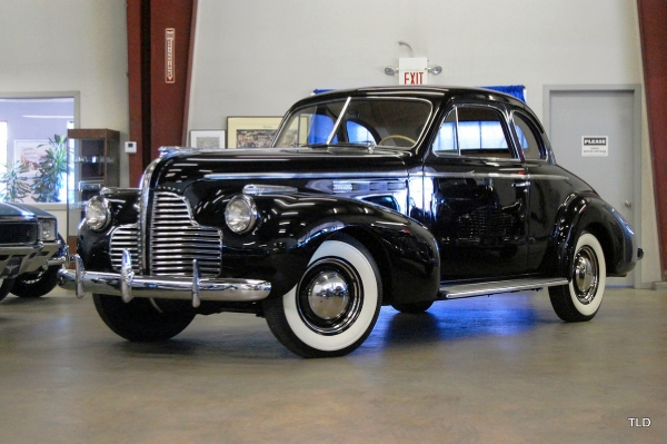 1940 Buick Special Businessman Coupe