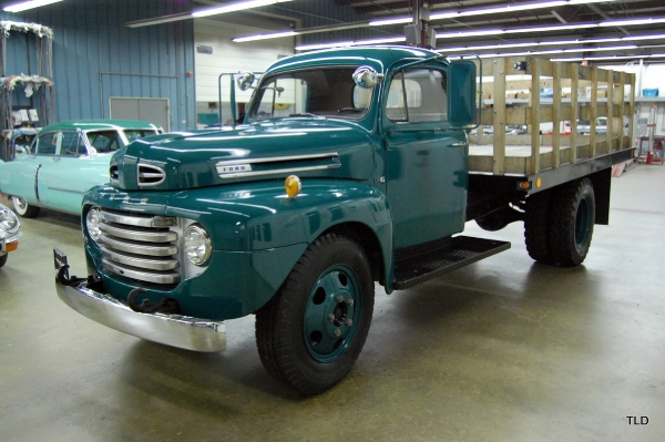 1949 Ford F6 2 5 Ton Stake Bed