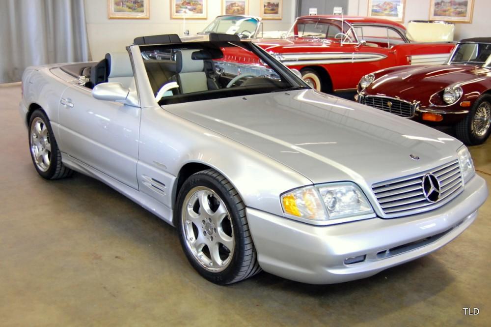 2002 mercedes benz sl class sl500 silver arrow