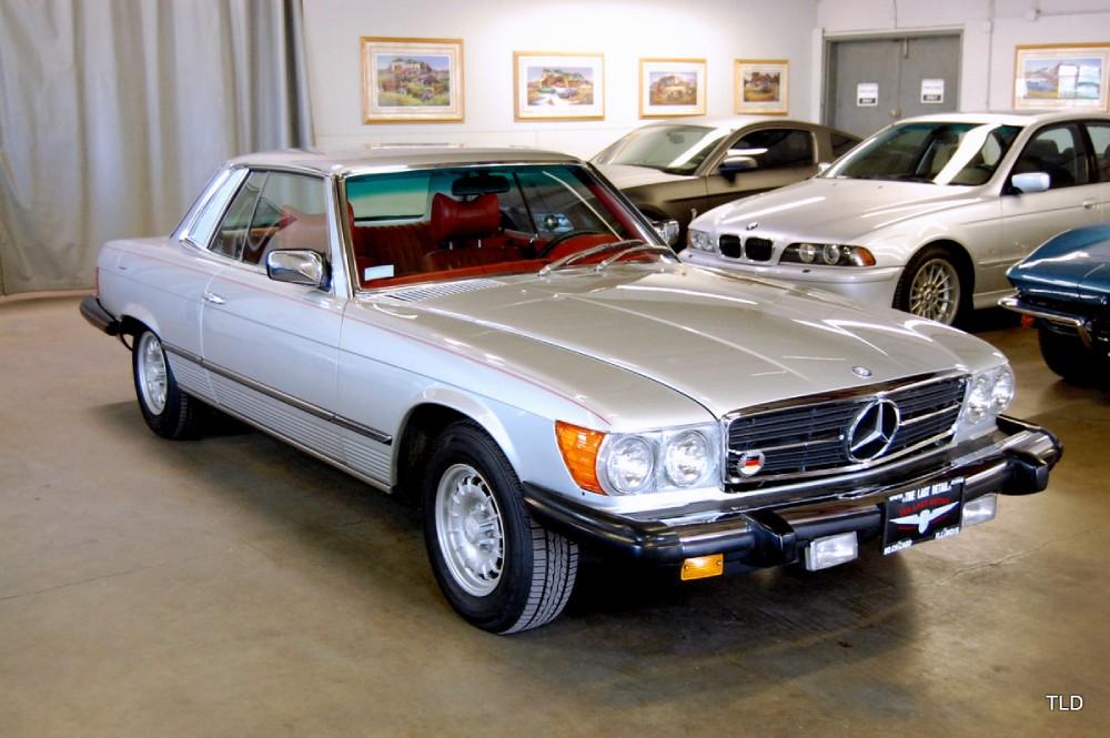 1979 mercedes benz sl class 450 slc