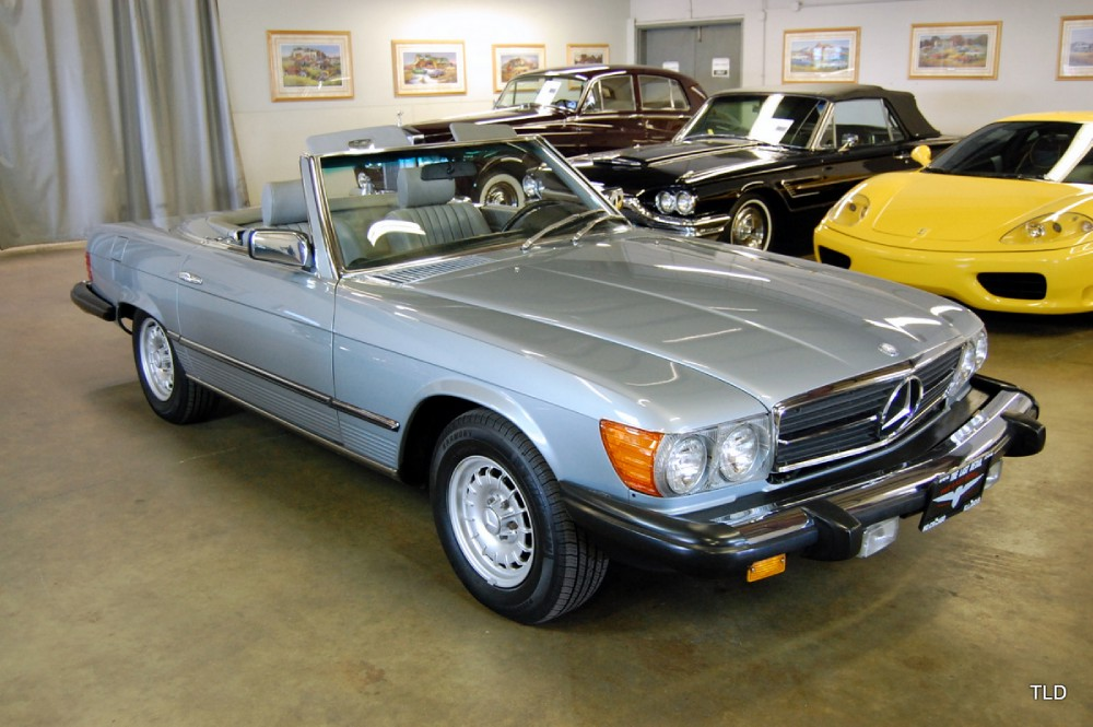 1982 mercedes benz 380sl 380sl for Mercedes benz financial contact number
