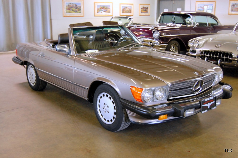 1988 mercedes benz 560 class 560sl for Mercedes benz chicago service