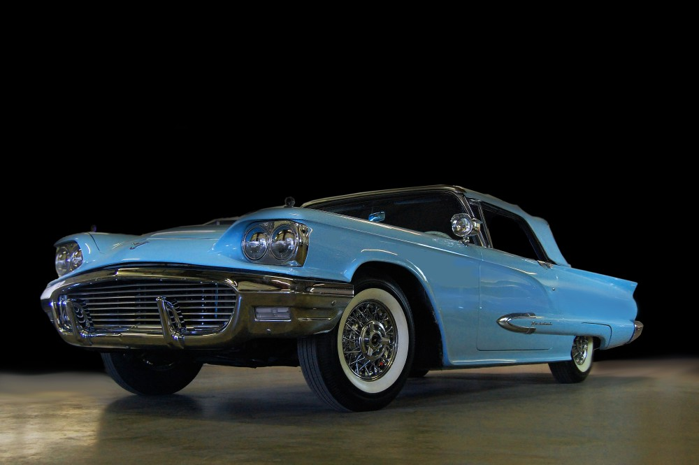 1959 Ford Thunderbird Paint Colors