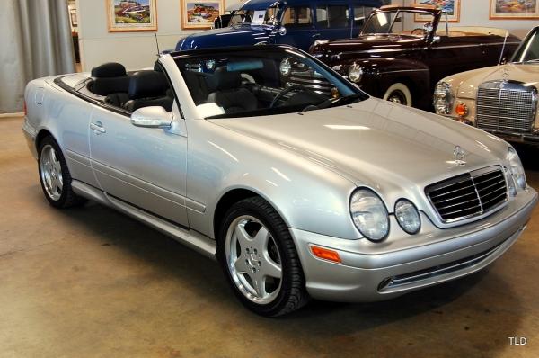2001 Mercedes-Benz CLK-Class CLK430