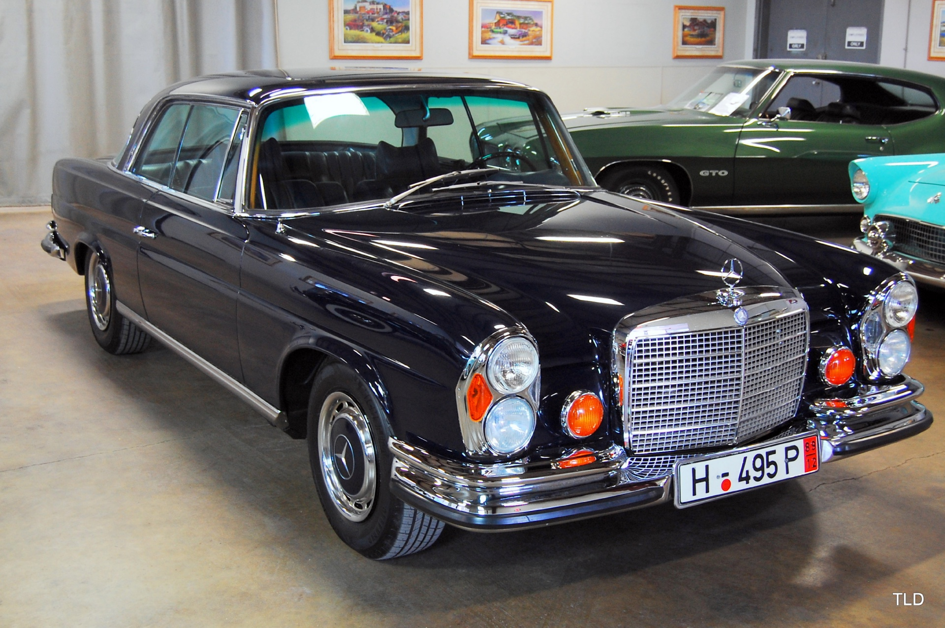 1971 Mercedes 280SE 3.5 Coupe