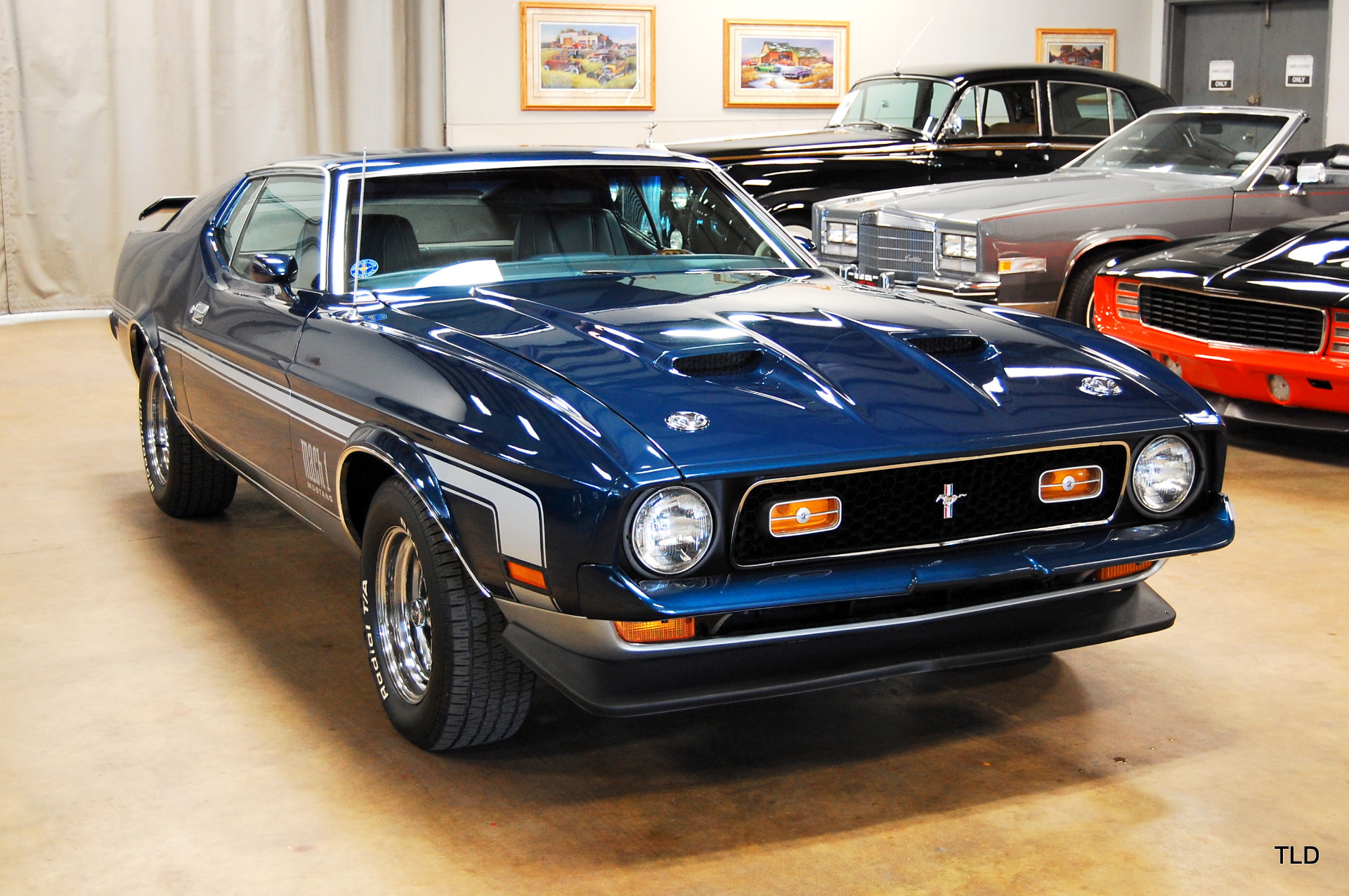 1971 ford mustang mach 1. Black Bedroom Furniture Sets. Home Design Ideas