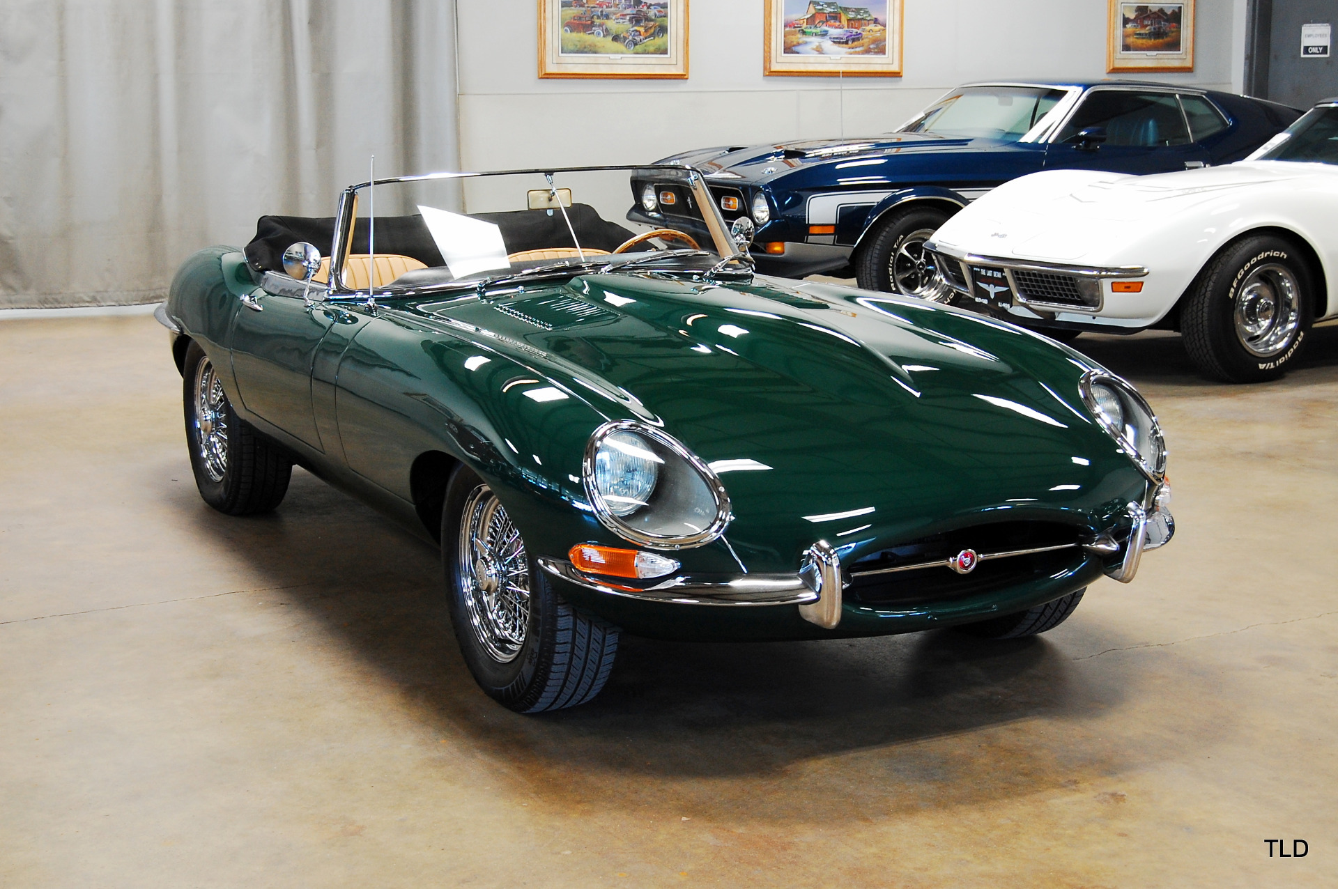 1967 Jaguar E Type Roadster