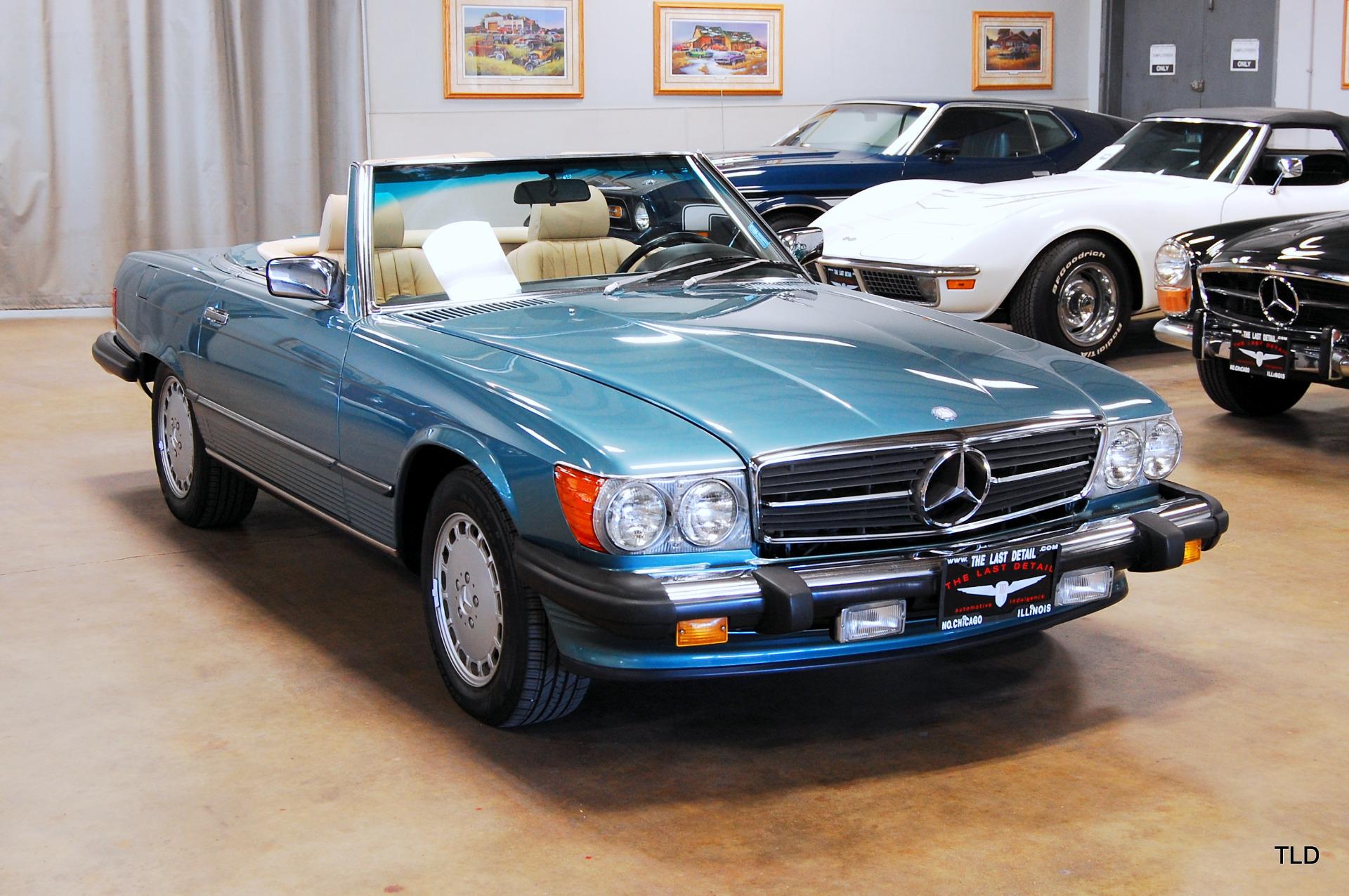 1988 mercedes benz 560 class 560sl for Mercedes benz 560