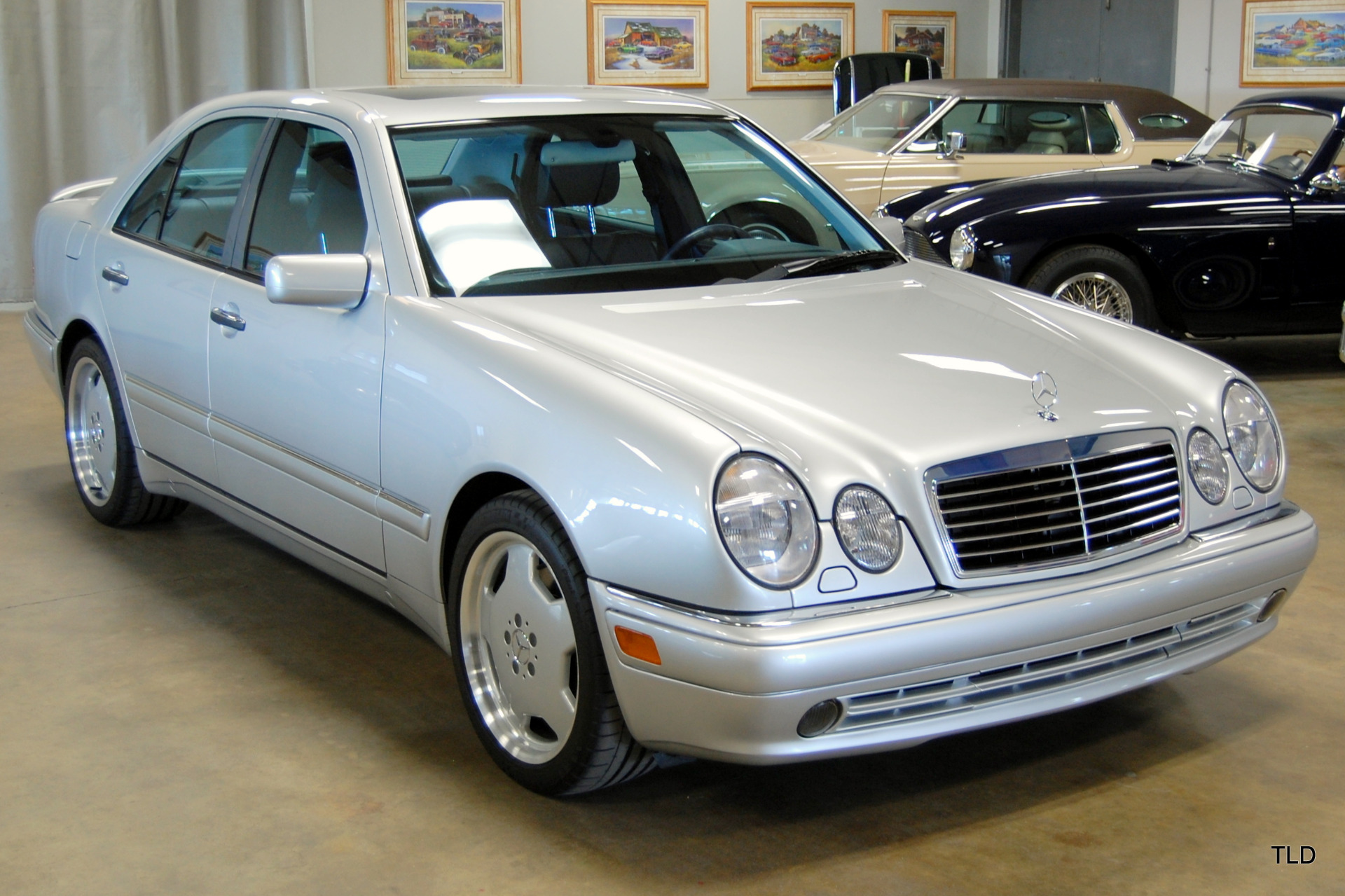 1999 mercedes benz e class e 55 amg for Mercedes benz e320 1999