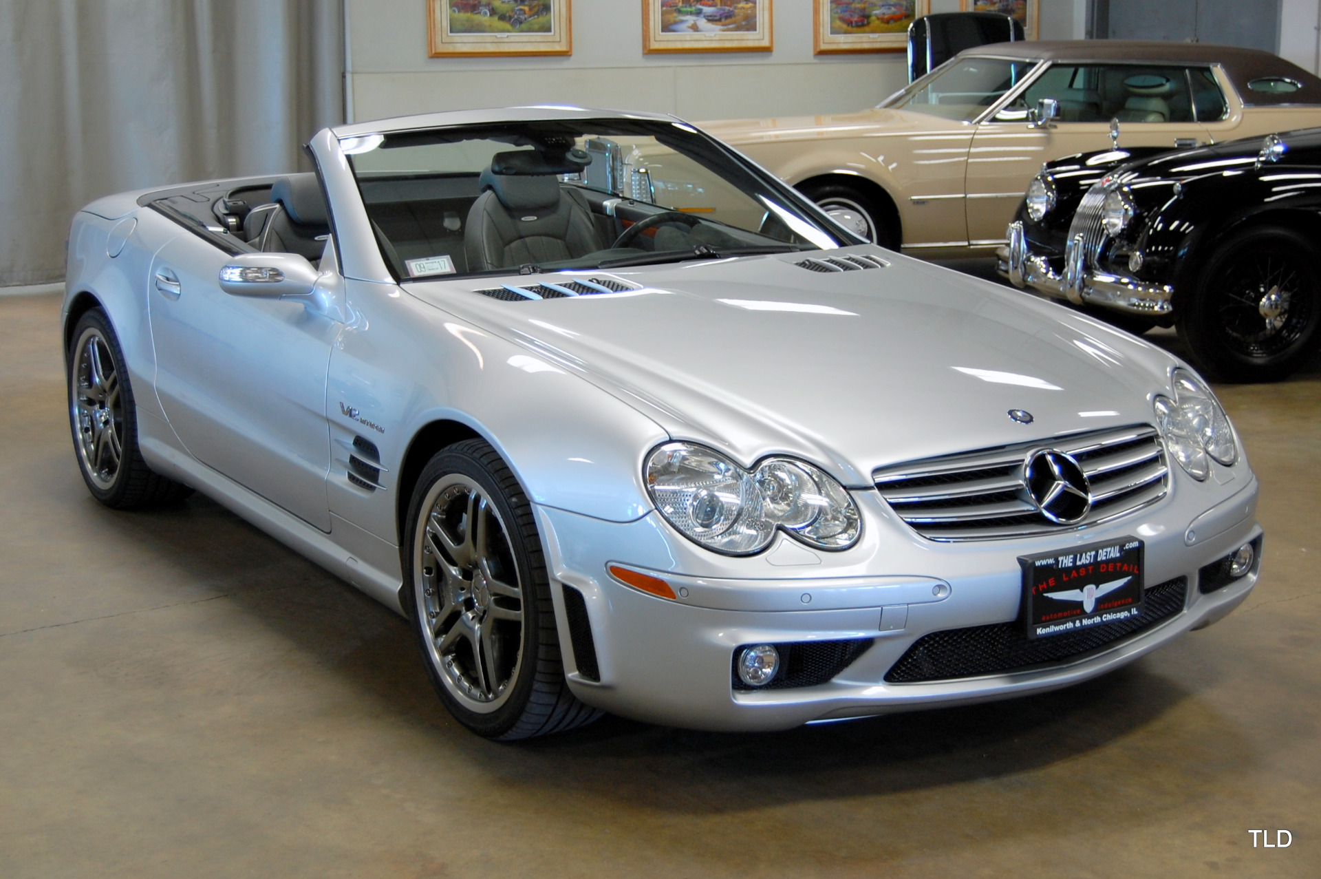 2005 mercedes benz sl class sl 65 amg. Black Bedroom Furniture Sets. Home Design Ideas