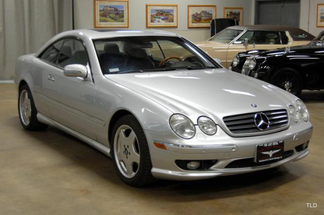 2001 Mercedes-Benz CL-Class CL 500