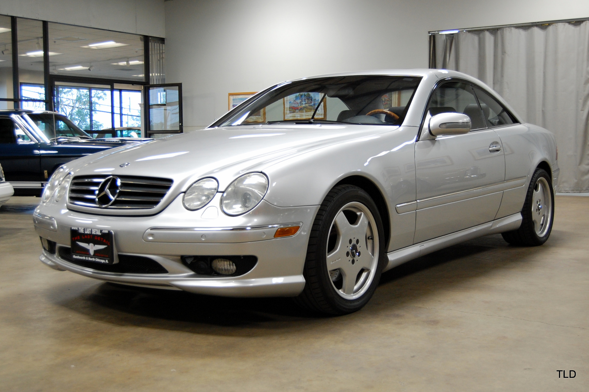 2001 mercedes benz cl class cl 500 ebay. Black Bedroom Furniture Sets. Home Design Ideas