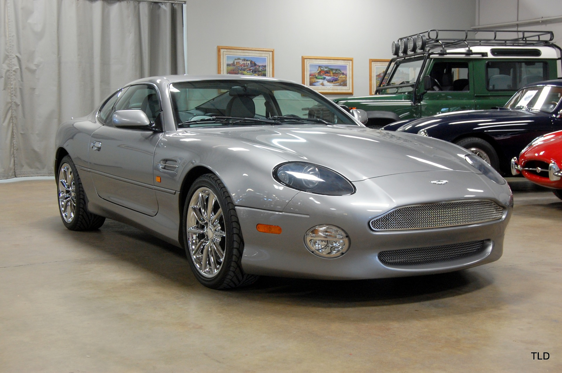 2002 Aston Martin DB7 Vantage: 2 OWNER - LOW MILES - FLAWLESS CONDITION - MANUALS - SERVICE HISTORY - CHARGER