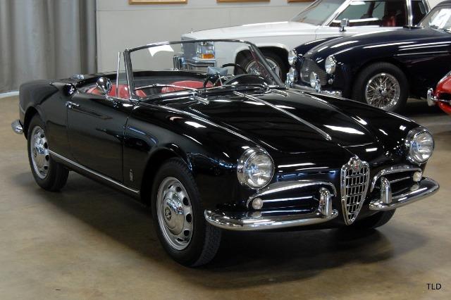 1959 Alfa Romeo Giulietta 750 Spider Veloce