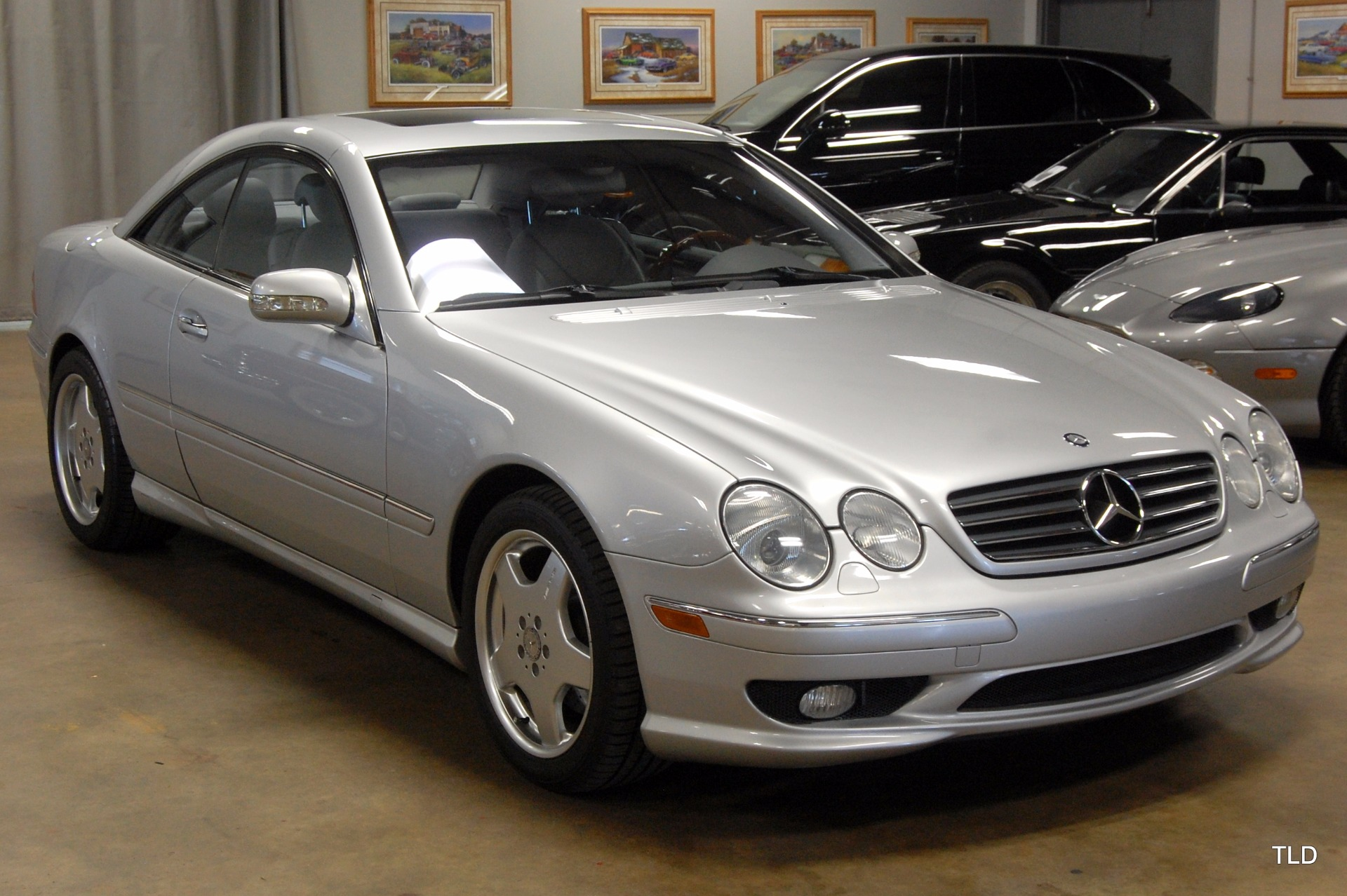 2001 mercedes benz cl class cl 55 amg. Black Bedroom Furniture Sets. Home Design Ideas