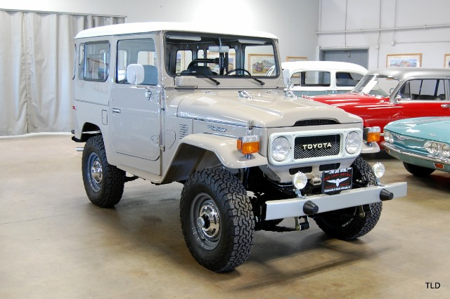 1983 Toyota FJ40 Hardtop